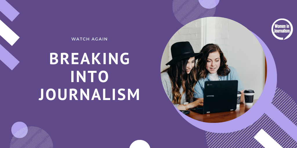 WATCH: Getting Your First Journalism Job Amid COVID-19