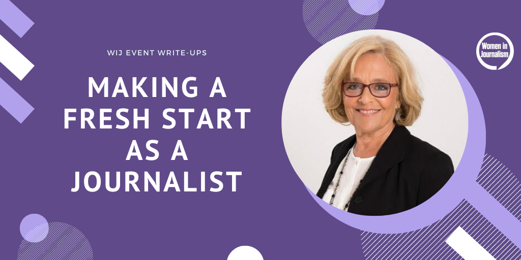 JUNE 23: How To Make A Fresh Start As A Journalist