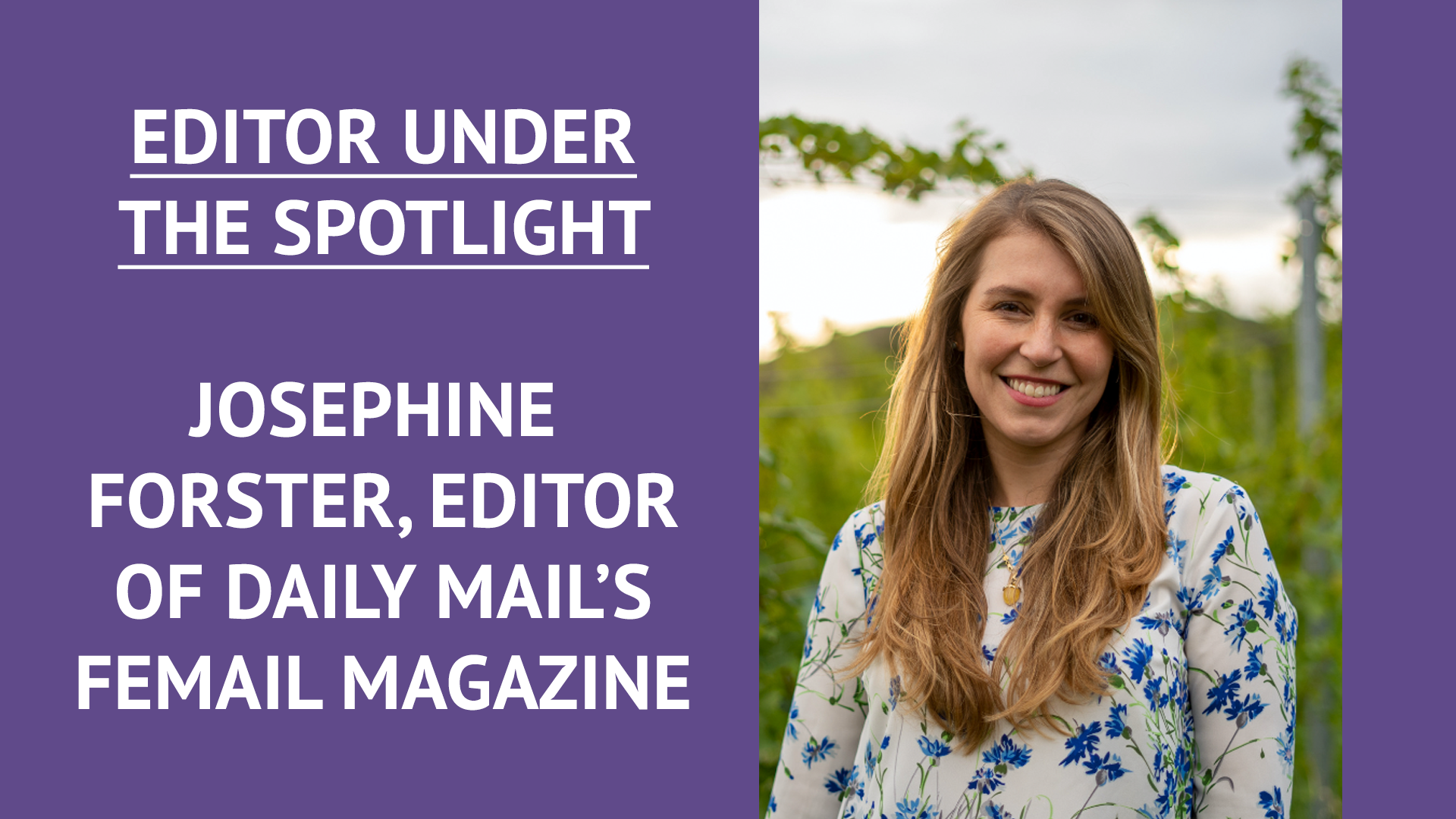 Editor Under the Spotlight: Opportunity Returns With £750 Daily Mail Commission