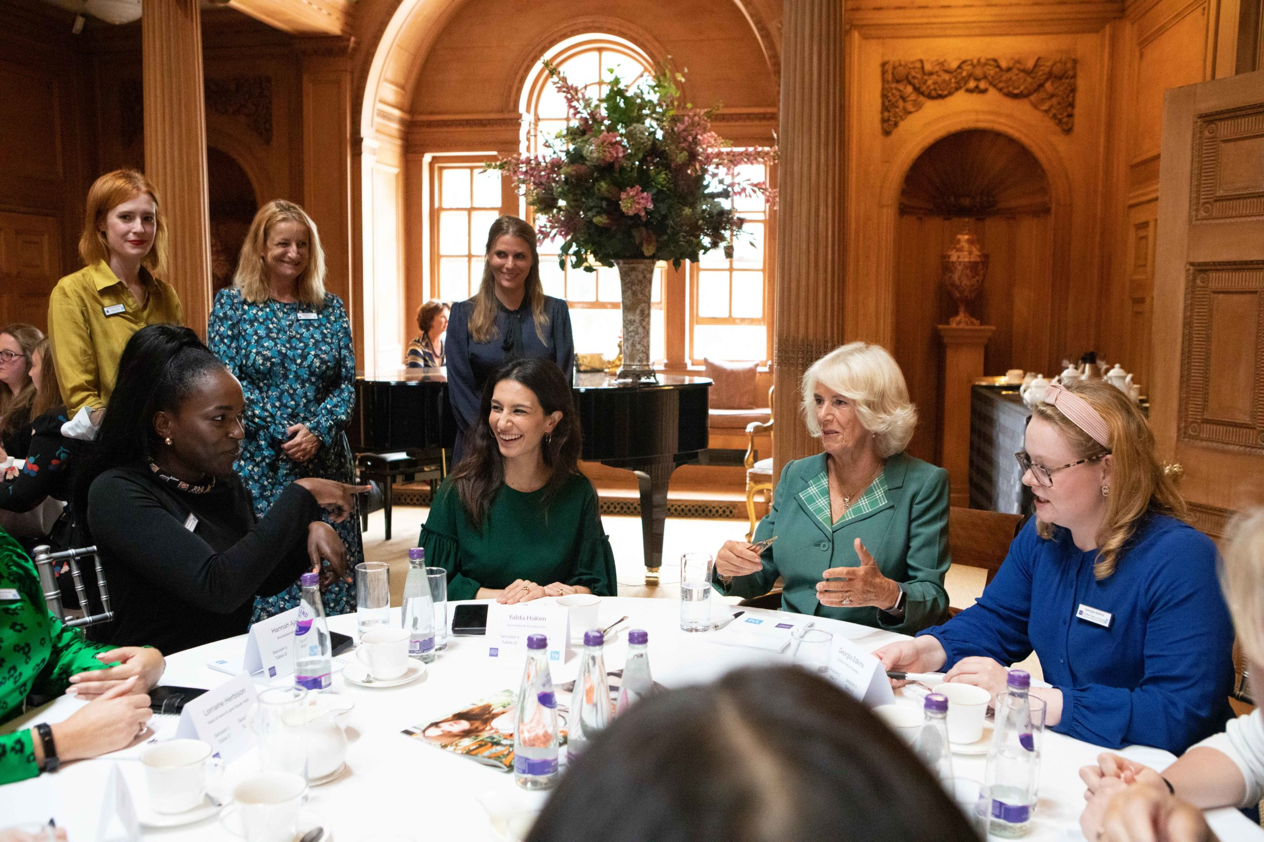 Women in Journalism at Dumfries House  –  guest of HRH The Duchess of Cornwall